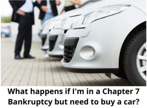 I'm Filing a Chapter 7 Bankruptcy and Want to Buy a New Car – What Can I Do (and When)?