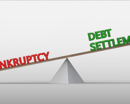 Should I consider a debt settlement instead of bankruptcy?